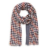 MULTI DOT SCARF $39.00