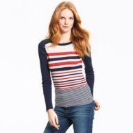 SADDLE STRIPE SWEATER $69.00
