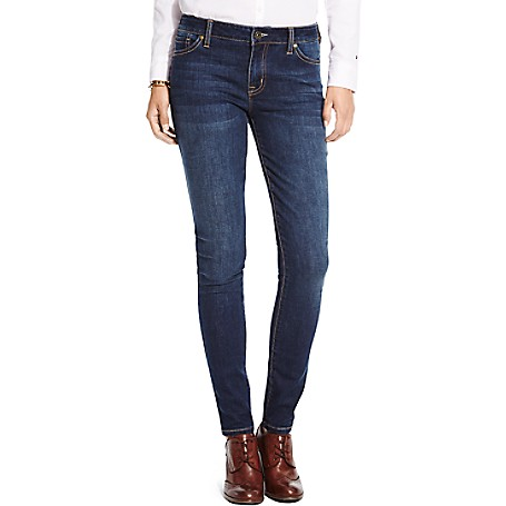 Tommy Hilfiger Dark Wash Skinny Jeans - Midnight