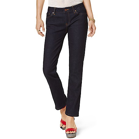 Tommy Hilfiger Rinse Wash Skinny Jeans - Mere Rinse Outlet Exclusive Product98% Cotton, 2% Elastane9'' Front Rise, 14.5'' Back Rise, 14.5'' Leg OpeningMachine WashableImported