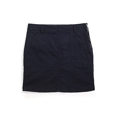 Tommy Hilfiger Fashion Skirt - Maasters Navy - 2 Outlet Exclusive Style.97%  Cotton  3%  ElastaneMachine Washable.Imported.