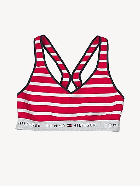 타미 힐피거 브라 Tommy Hilfiger Essential Stripe Bralette