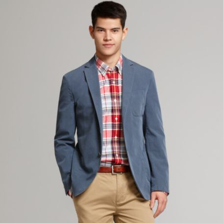 Image for GARMENT DYED TWILL BLAZER from Tommy Hilfiger USA