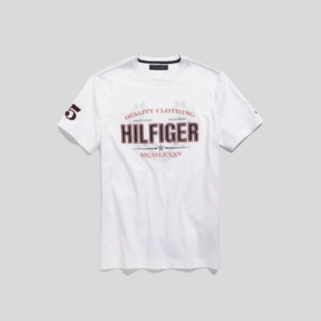 Image for HILFIGER LOGO TEE from Tommy Hilfiger USA