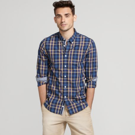 Image for LONG SLEEVE CHECK SHIRT from Tommy Hilfiger USA