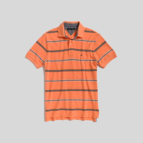 Image for THIN STRIPE PIQUE POLO from Tommy Hilfiger USA