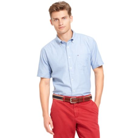 Image for CLASSIC FIT OXFORD SHORT SHIRT from Tommy Hilfiger USA
