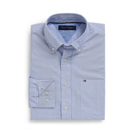 Image for CLASSIC FIT STRIPE OXFORD SHIRT from Tommy Hilfiger USA