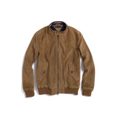Image for SUEDE BOMBER JACKET from Tommy Hilfiger USA