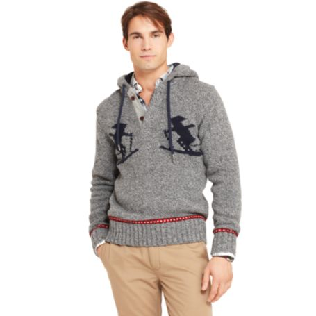 Image for NOVELTY SKIER PULLOVER SWEATER from Tommy Hilfiger USA