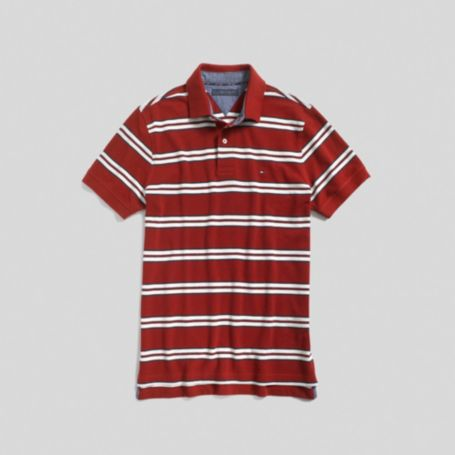 Image for DOUBLE STRIPE POLO from Tommy Hilfiger USA