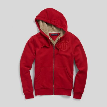 Image for STOLAR LINED FULL ZIP HOODIE from Tommy Hilfiger USA