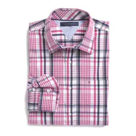 Image for 80'S COTTON PLAID SHIRT from Tommy Hilfiger USA