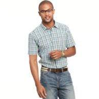 CUSTOM FIT PLAID SHIRT $39.99