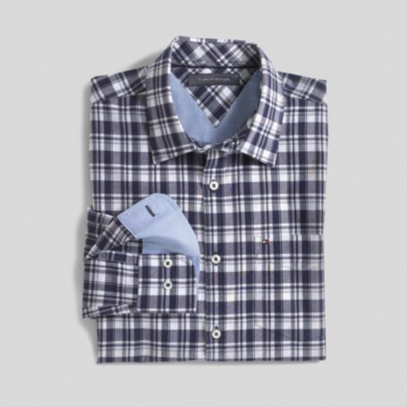 Image for CUSTOM FIT WILAMETTE PLAID from Tommy Hilfiger USA