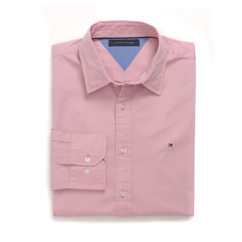 Image for CUSTOM FIT SOLID SHIRT from Tommy Hilfiger USA