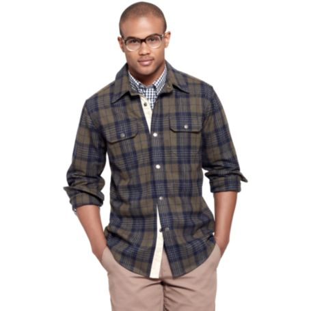 Image for FLANNEL SHIRT JACKET from Tommy Hilfiger USA