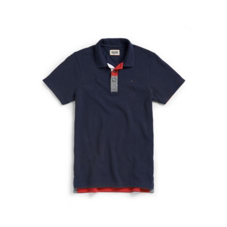 Image for SOLID JERSEY POLO from Tommy Hilfiger USA