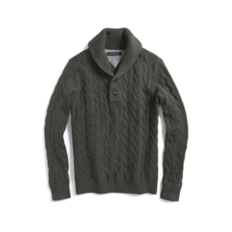 Image for LUXE COTTON  CABLE SWEATER from Tommy Hilfiger USA