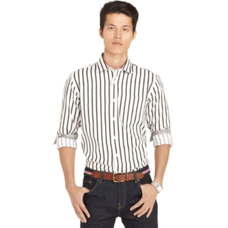 Image for SLIM FIT STRIPE SHIRT from Tommy Hilfiger USA
