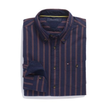 Image for SLIM FIT 80'S STRIPE SHIRT from Tommy Hilfiger USA