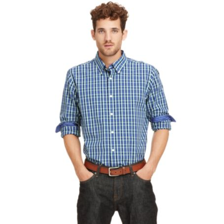 Image for SLIM FIT CHECK SHIRT from Tommy Hilfiger USA
