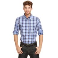 SLIM FIT PLAID SHIRT $24.97