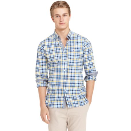 Image for LONG SLEEVE PLAID SHIRT from Tommy Hilfiger USA