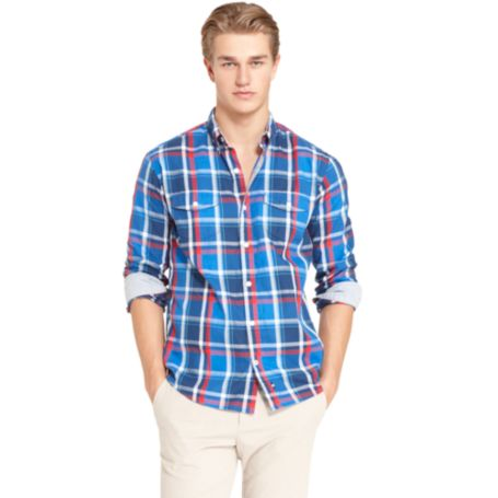Image for VINTAGE FIT PLAID SHIRT from Tommy Hilfiger USA