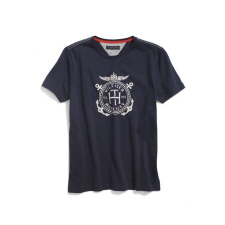Image for CREST LOGO TEE from Tommy Hilfiger USA