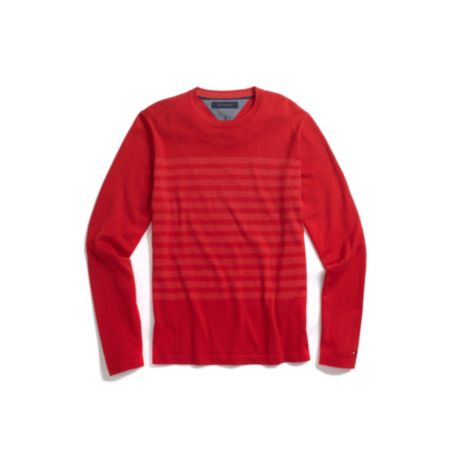 Image for STRIPE CREW NECK SWEATER from Tommy Hilfiger USA
