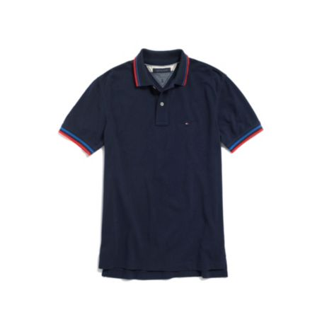 Image for TIPPED POLO from Tommy Hilfiger USA