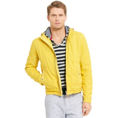 Image for HOODED COTTON JACKET from Tommy Hilfiger USA