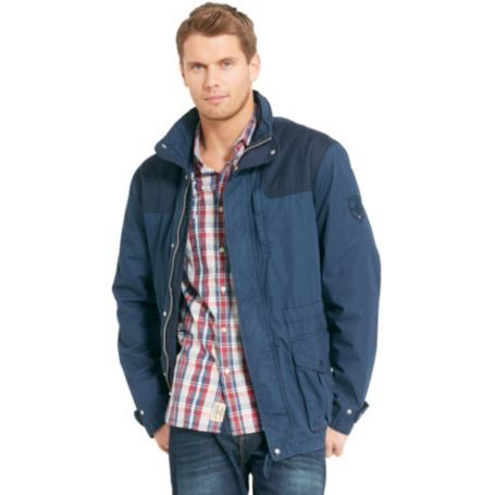 Image for COTTON FIELD JACKET from Tommy Hilfiger USA