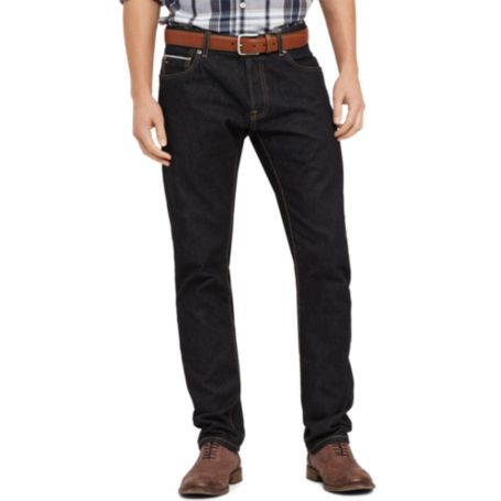Image for SELVEDGE SLIM STRAIGHT JEAN from Tommy Hilfiger USA