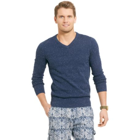 Image for FLECKED TEXTURE SWEATER from Tommy Hilfiger USA