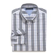 CUSTOM FIT WINDOWPANE SHIRT $49.99