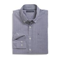 CUSTOM FIT PLAID SHIRT $44.99