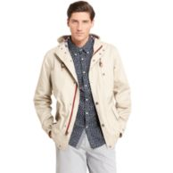 COTTON HOODED JACKET $124.99
