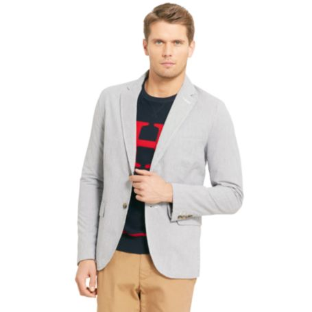 Image for CORDED COTTON BLAZER from Tommy Hilfiger USA