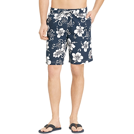 Tommy Hilfiger Hibiscus Trunk - Blue - Xl