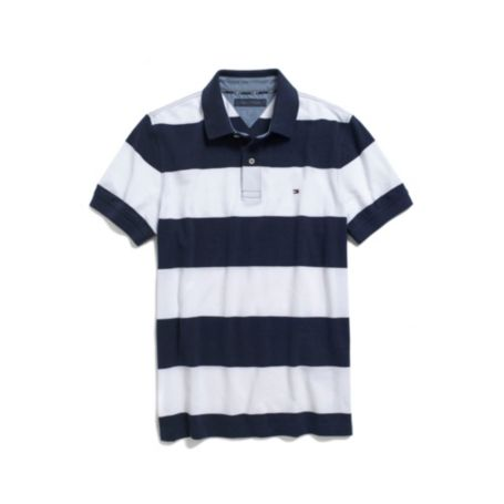 CHEST STRIPED POLO