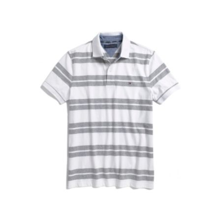 Image for DOUBLE STRIPE JERSEY POLO from Tommy Hilfiger USA