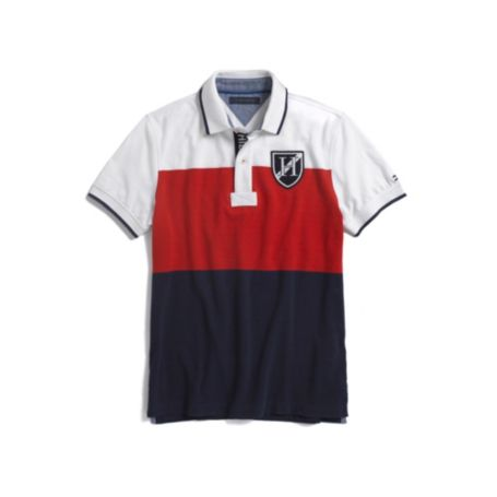 Image for COLOR BLOCK POLO from Tommy Hilfiger USA