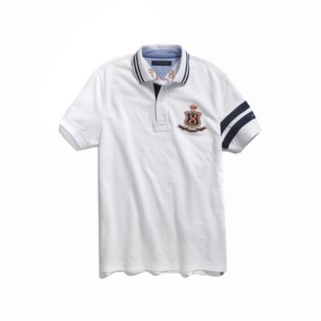 Image for SLIM FIT NOVELTY POLO from Tommy Hilfiger USA