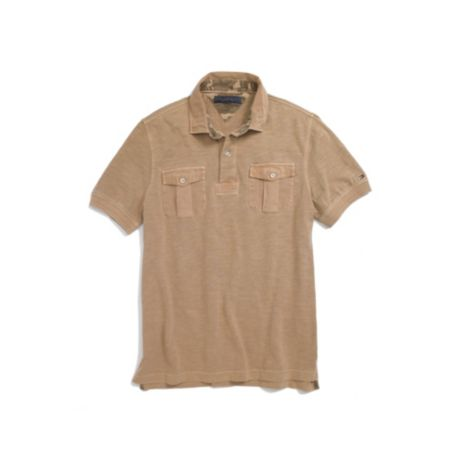 Image for SLUB GARMENT DYED POLO from Tommy Hilfiger USA
