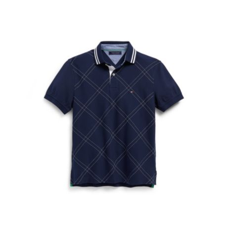 Image for REGULAR FIT PIQUE ARGYLE POLO from Tommy Hilfiger USA
