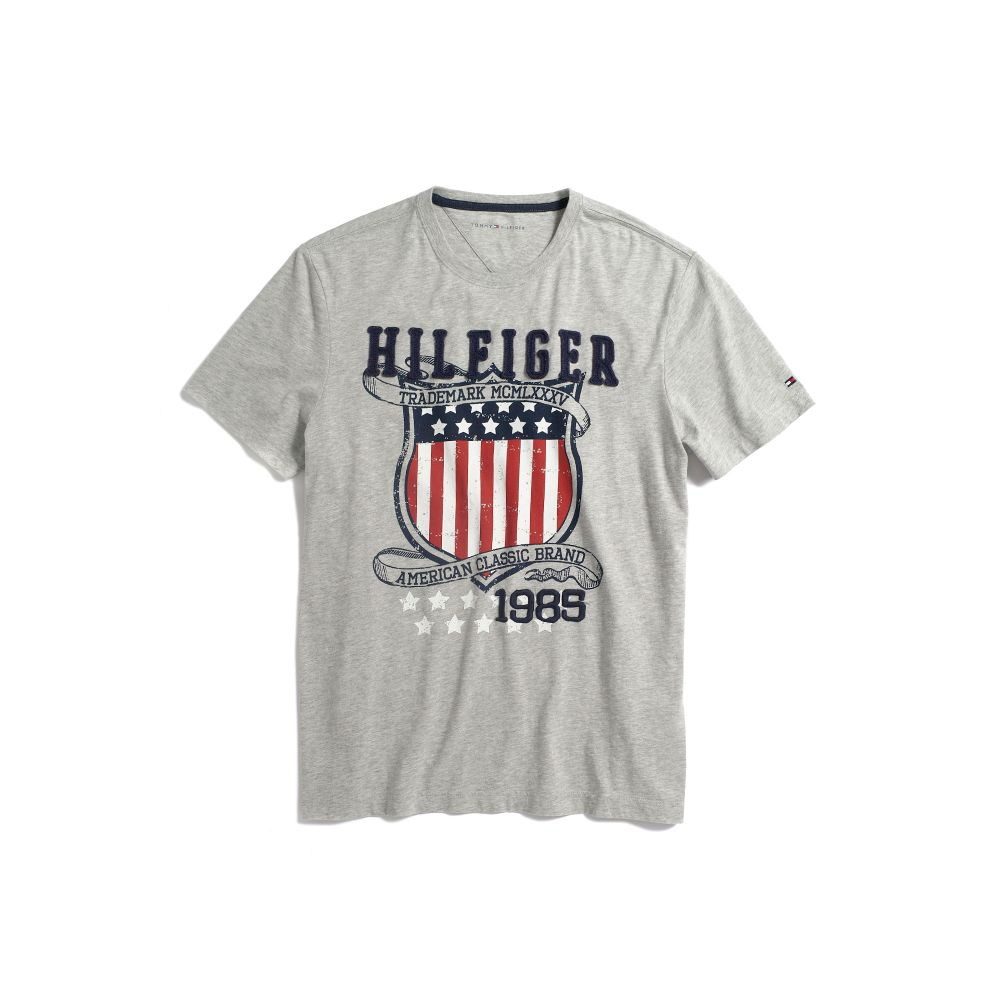 Image for HILFIGER GRAPHIC TEE from Tommy Hilfiger USA