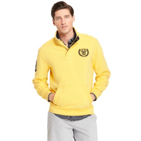 Image for HALF ZIP MOCK FLEECE from Tommy Hilfiger USA