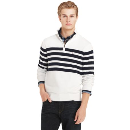 Image for NAUTICAL HALF ZIP SWEATER from Tommy Hilfiger USA